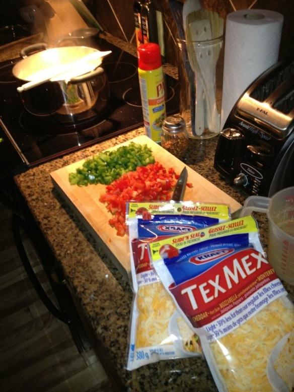 Tex Mex Mac'n'Cheese